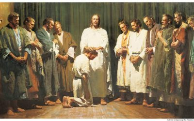 Иисус призывает двенадцать Апостолов