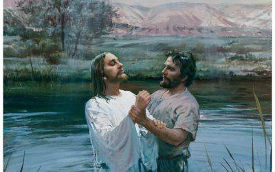 Иисус в Книге Мормона и крещение