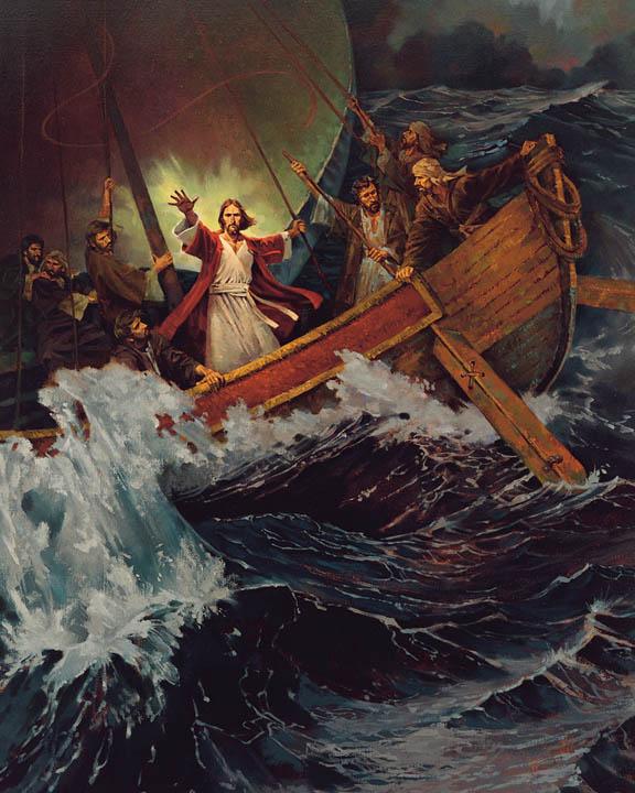 картинка иисус успокаивает бурю что делать если