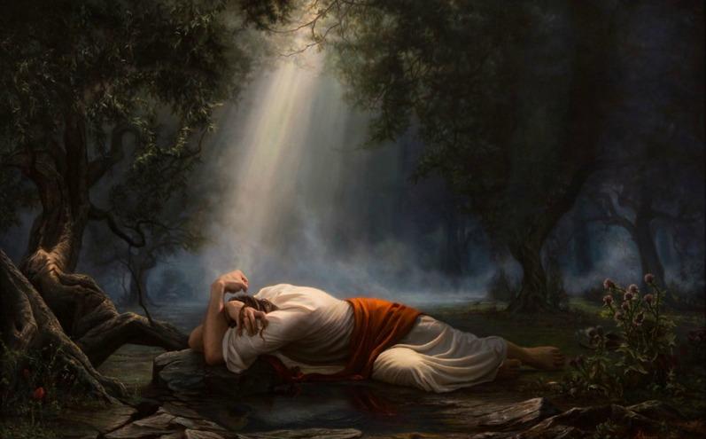 Иисус Христос в Гефсиманском саду