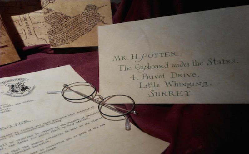 Гарри Поттер, очки, письмо