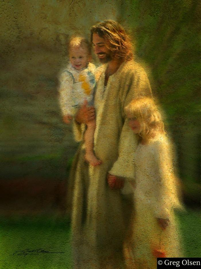 Иисус и дети