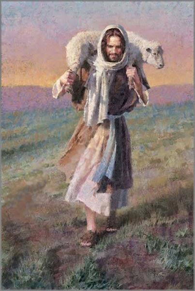 Иисус с ягненком, Пастырь