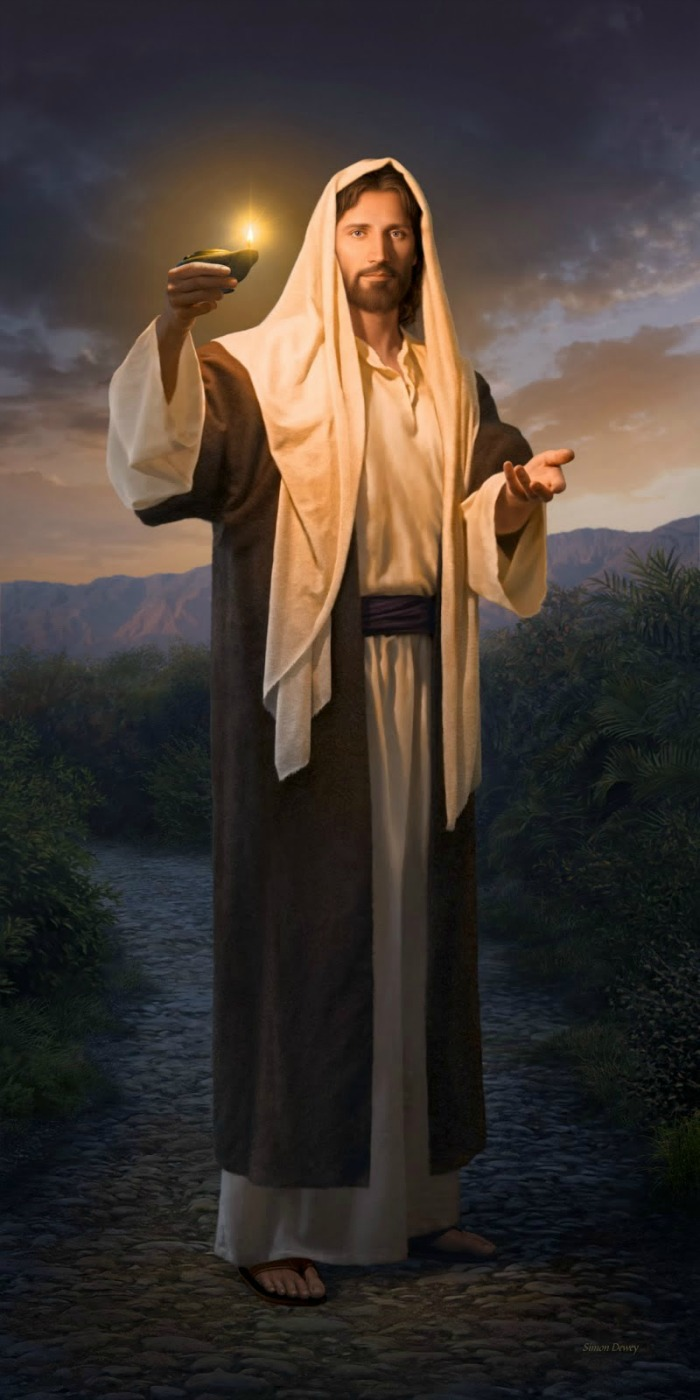 Иисус со светильником