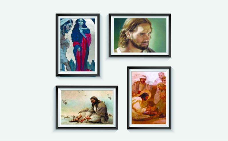Картины мормонских художников о Спасителе, Христос