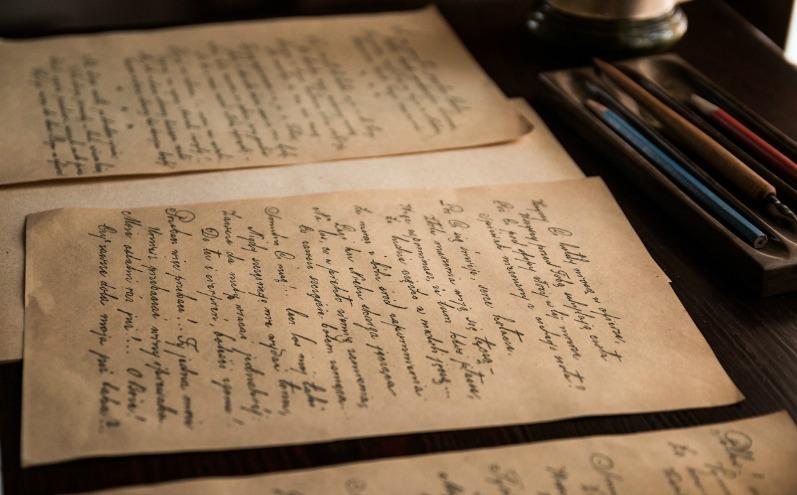 Старые книги, письма