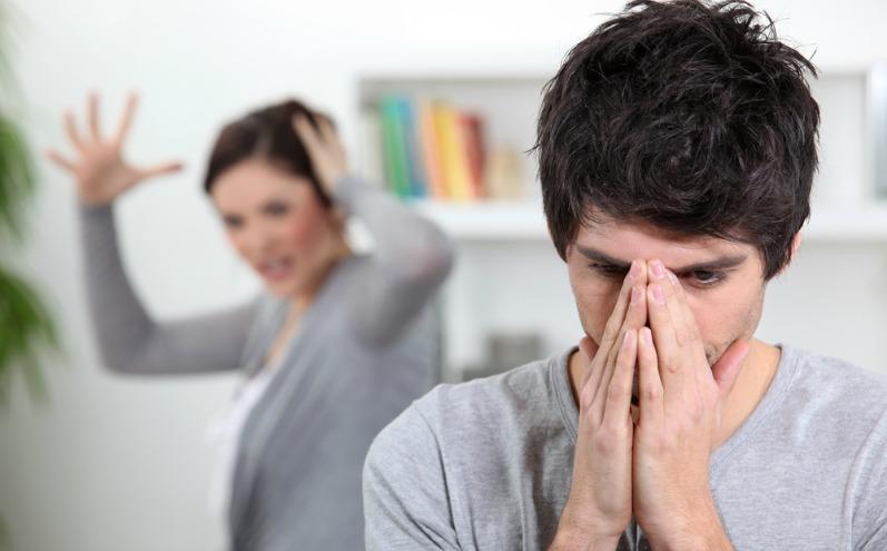 Спор между мужем и женой